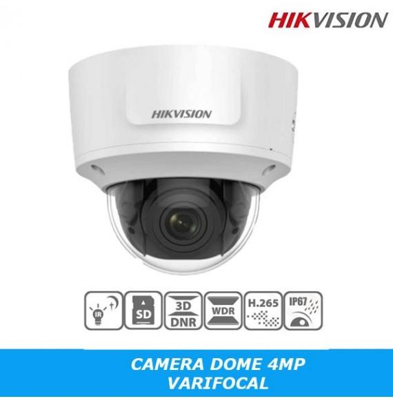 Caméra réseau IP 4MP Dome Vari-focal Hikvision